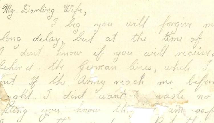 Holster met brief van Britse parachutist Tweede Wereldoorlog gevonden