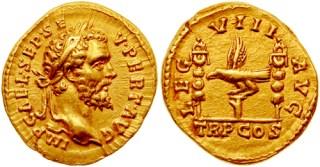 Aureus van Septimius Severus