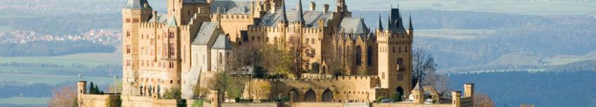 Burg Hohenzollern bij Hechingen - cc