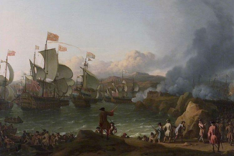 Gevecht om een Spaanse zilvervloot