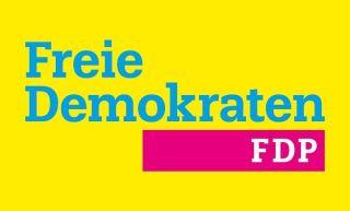 Huidige logo van de FDP