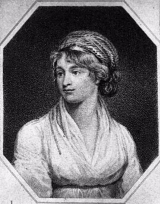 Portret van Mary Wollstonecraft