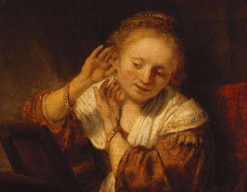 Rembrandt, Jonge vrouw met oorbellen, 1656 © State Hermitage Museum, St Petersburg