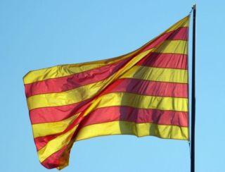 La senyera, de vlag van Catalonië - cc