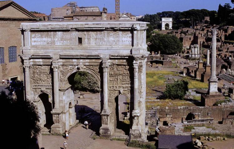 Het Forum Romanum (Alexander Smarius)