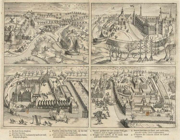 De inname van Breda in vier scènes