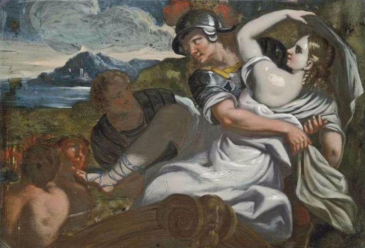 De schaking van Helena - Carlo Garofalo