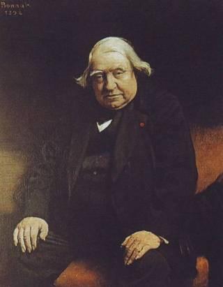 Ernest Renan, door Léon Bonnat