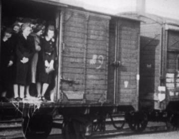 Sill uit de Westerborkfilm, Herinneringscentrum Kamp Westerbork