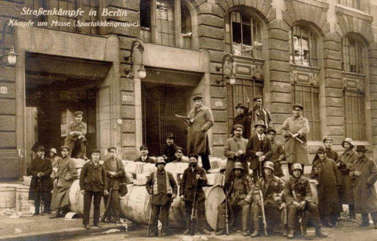 Spartakusopstand (1919) - Spartacisten