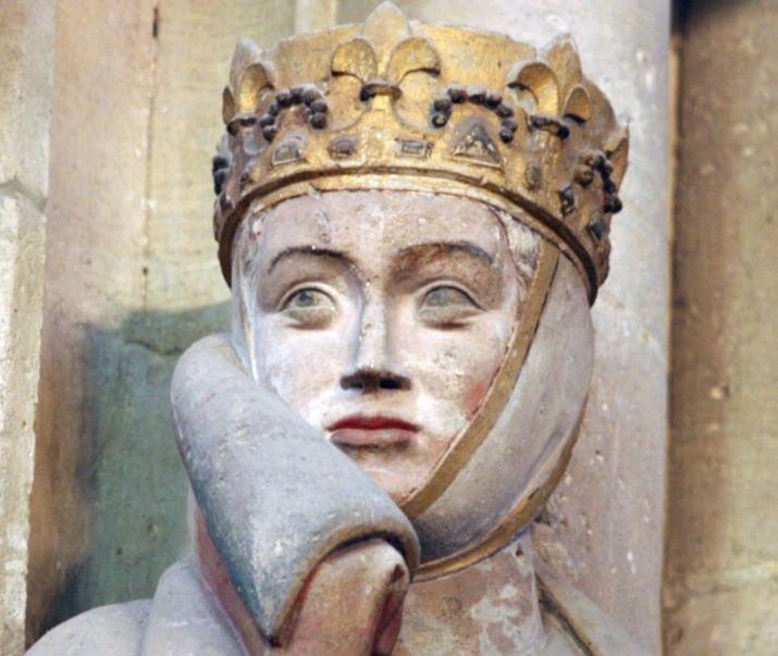 Uta von Ballenstedt leefde 1000 jaar geleden in Naumburg en wordt in Duitsland nog altijd sterk bewonderd. - cc