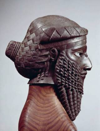 Akkadisch koningsportret - collectie Irak Museum in Bagdad (Foto: Bildarchiv Foto Marburg, Albert Hirmer/Irmgard Ernstmeier-Hirmer)