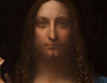 Salvator Mundi - Leonardo da Vinci (detail)