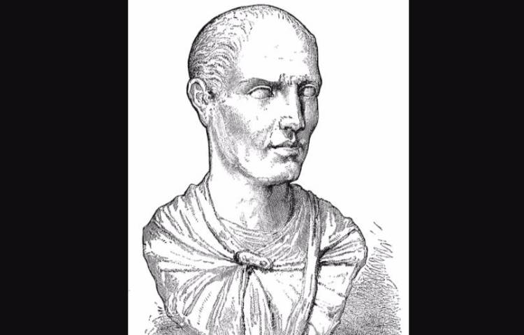 Gravure van Lucius Licinius Lucullus