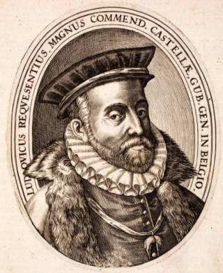 De Spaanse legeraanvoerder Luis de Zúñiga y Requesens