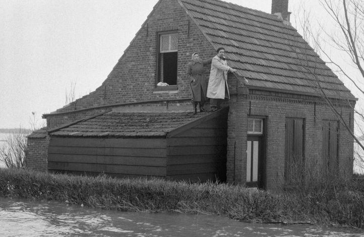 Knechtenwoning in een polder bij Nieuwe-Tonge. Foto: Henk Jonker (maria austria instituut)