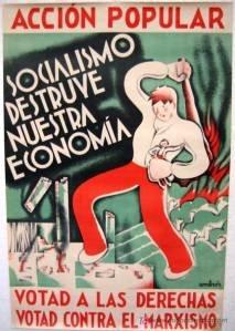 Poster Acción Popular