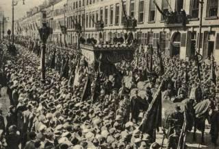 Begrafenisplechtigheid in Brussel in september 1935 (wiki)