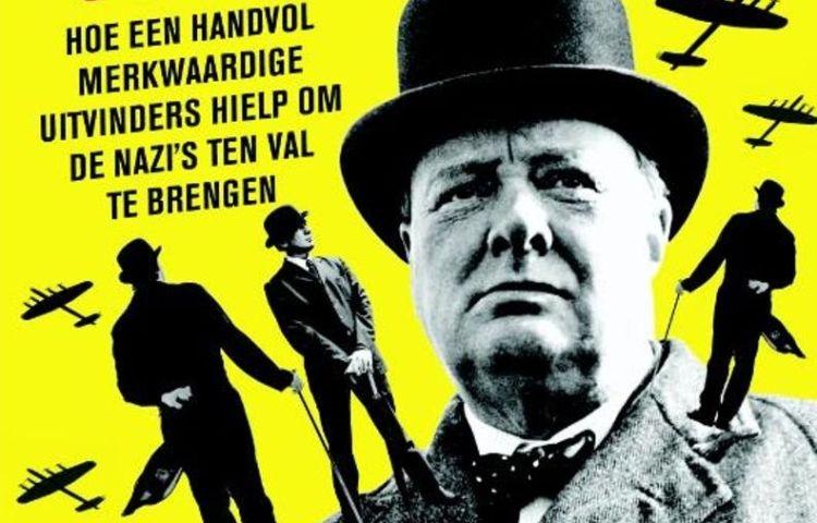 Churchill's ministerie van onfatsoenlijke oorlogsvoering (detail boekcover)