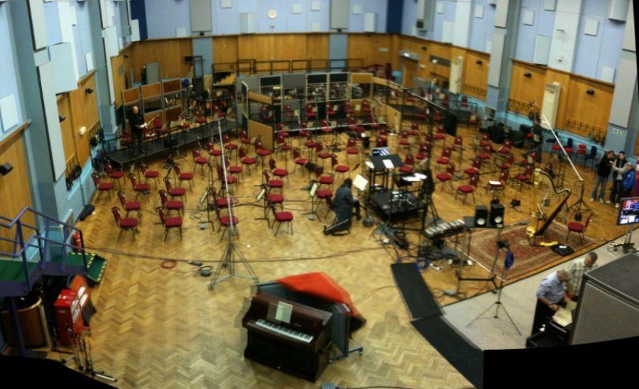 Een van de studio's aan Abbey Road - cc