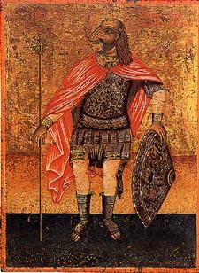 Sint Christoffel als cynocefaal