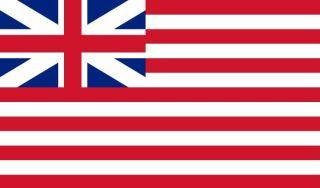 Vlag van de Britse Oost-Indische Compagnie, 1707-1801