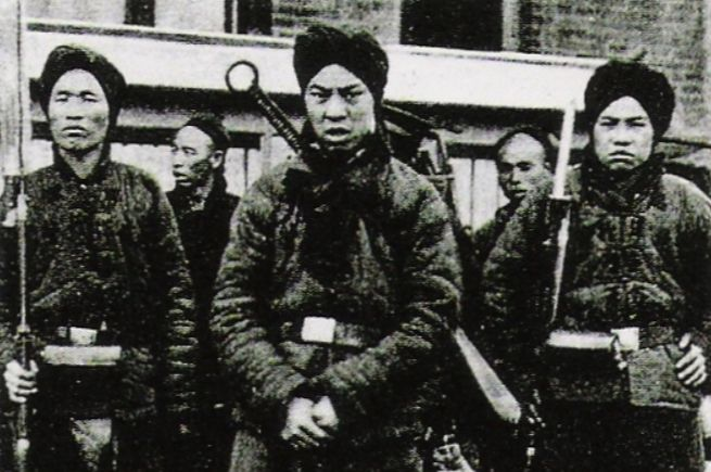 Bokseropstand (1899-1901) - Enkele Boksers tijdens de opstand - wiki