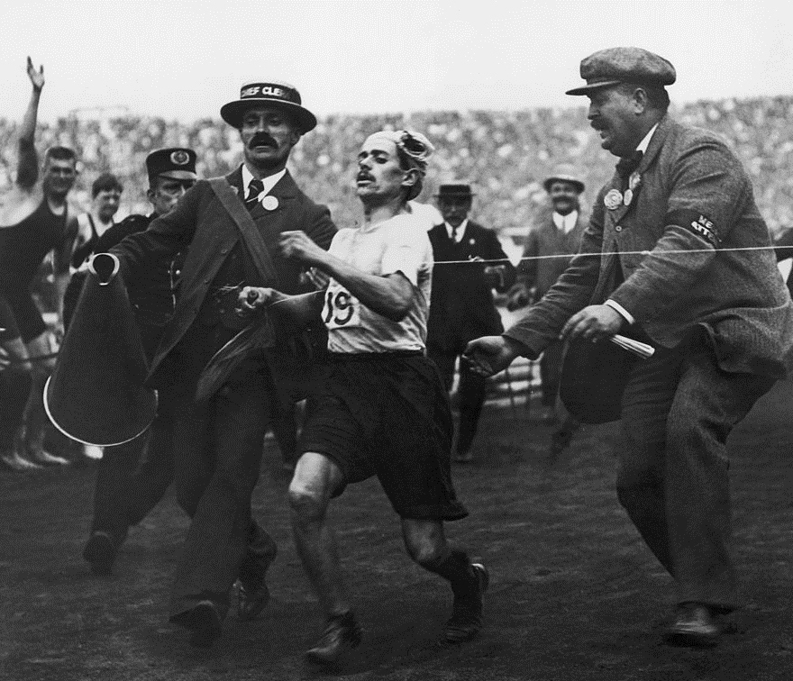 Dorando Pietri, de man die de Olympische marathon won én verloor