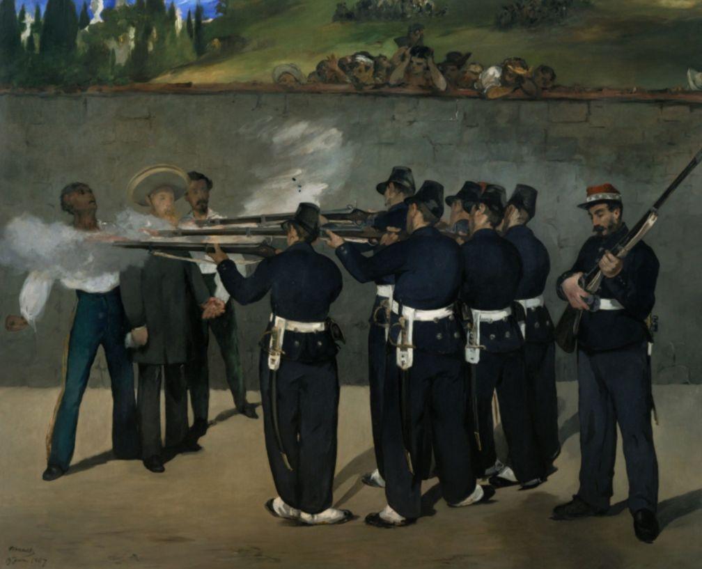 Executie van Maximiliaan (Édouard Manet, 1868)