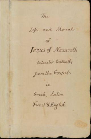 Titelpagina van de Jeffersonbijbel