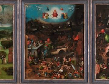 Laatste Oordeel -Gemäldegalerie der Akademie der bildenden Künste)