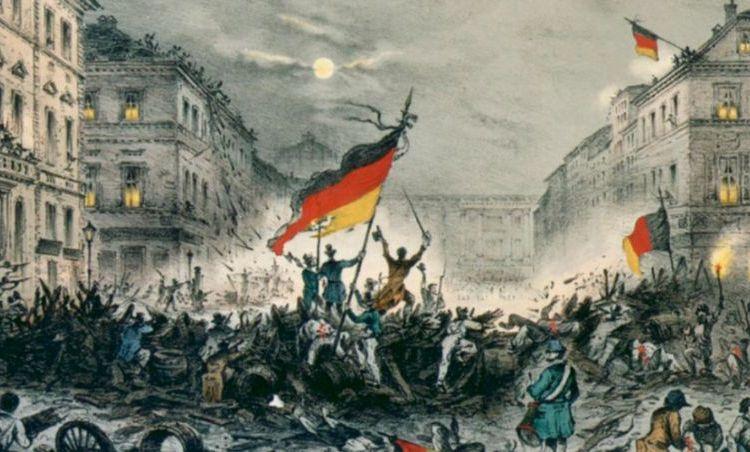 Gevechten in Berlijn op 19 maart 1848