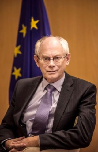 Herman Van Rompuy in 2012 (cc - Michiel Hendryckx)