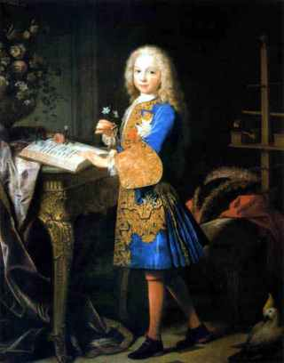 Karel III als kind
