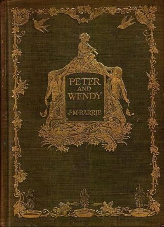 Peter and Wendy - J.M. Barry, oktober 1911