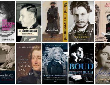 boeken op de longlist van de Nederlandse Biografieprijs