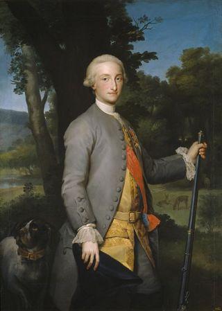 Karel IV rond 1765
