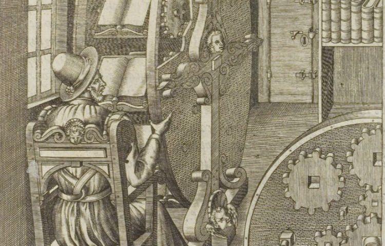 De zestiende-eeuwse leesmachine van Agostino Ramelli