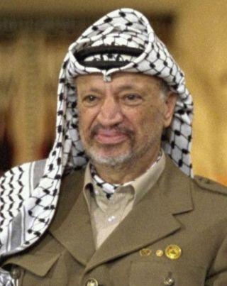 Yasser Arafat in 1994 (CC BY-SA 3.0 - wiki)