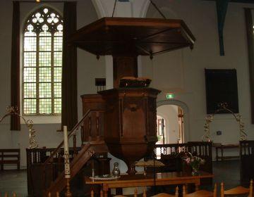Het Réveil - Kansel in Katwijk (Puibliek Domein - wiki - Christiaan Oudshoorn)