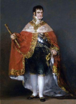 Koning Ferdinand VII door Francisco Goya