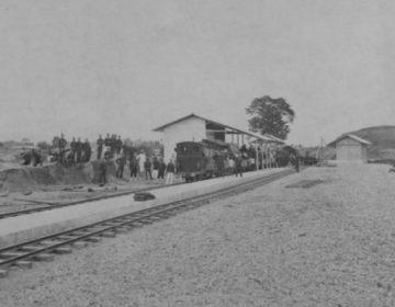 Treinstation in Atjeh. (Wikimedia/Collectie Tropenmuseum)