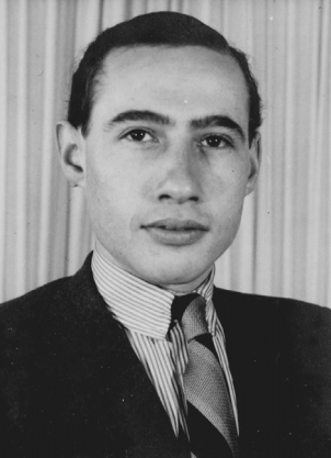 Heinz in Westerbork, zomer 1940. (Archief Rijksvreemdelingendienst).