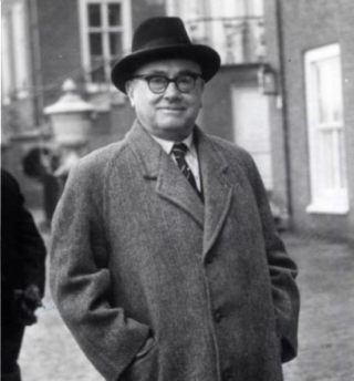 Rad Kortenhorst in 1959 (CC BY-SA 3.0 nl - Spaarnestad - Anefo - wiki)