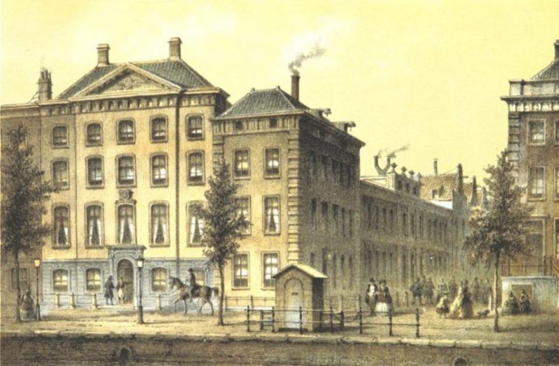 Voormalig hoofdkantoor van de Nederlandsche Handel-Maatschappij  (Amsterdam, 1860), Johannes Jacobus Antonius Hilverdink (Publiek Domein - wiki)