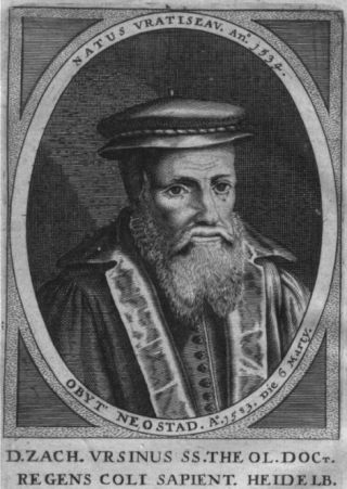 Zacharias Ursinus, auteur van de Heidelbergse Catechismus