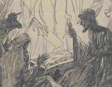 Afbeelding uit Trouw tijdens de Hongerwinter van 1944 (Delpher)