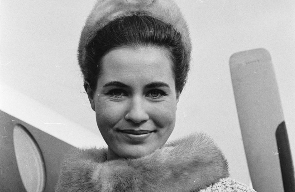 Catharina Lodders, 2 november 1963 (CC0 - Pot, Harry / Anefo)