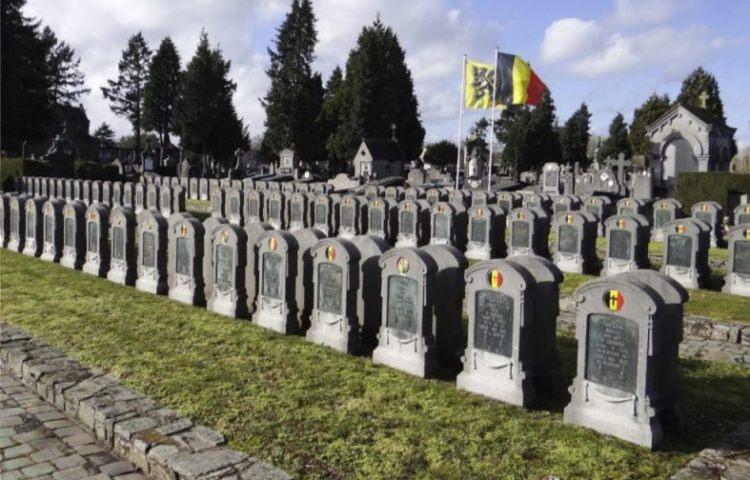 Militaire begraafplaats in Mechelen (CC BY-SA 4.0 - Anne Jea.)