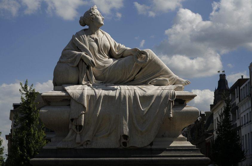 Monument van Tacambaro in Oudenaarde (CC BY-SA 3.0 - PMRMaeyaert)